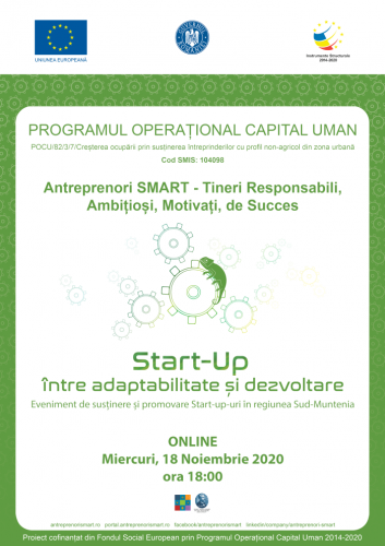 Start-UP între adaptabilitate și dezvoltare